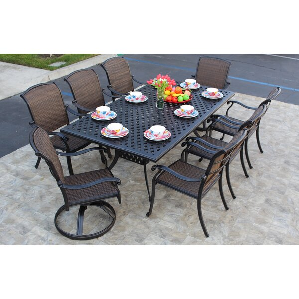 Adela 9 Piece Dining Set By Darby Home Co