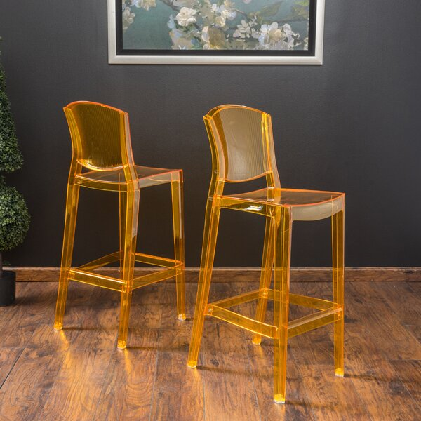 Breezewood 28.75 Bar Stool (Set of 2) by Orren Ellis