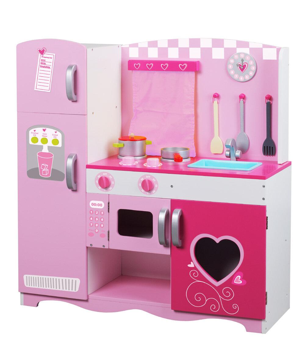 classic toy wooden kitchen set reviews wayfair - Wooden Kitchen Set
