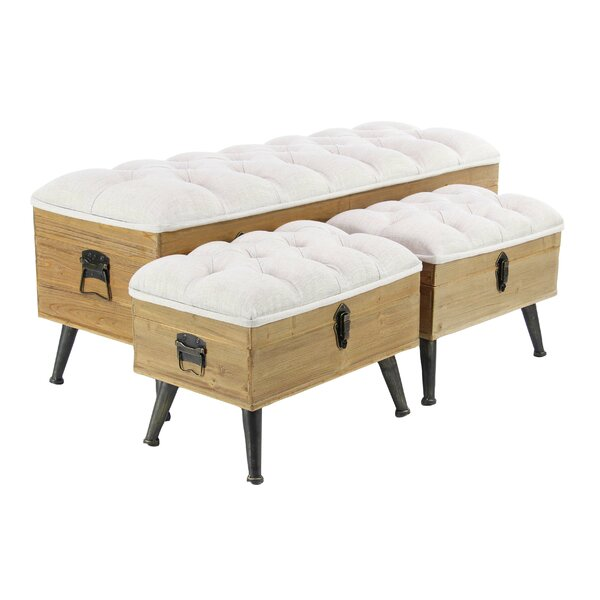 Sibo Traditional Upholstered Storage Bench
