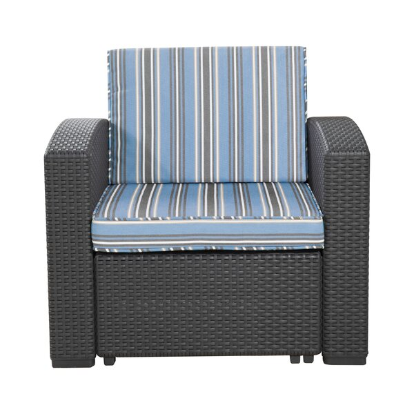 Blanchard Patio Chair With Cushions By Highland Dunes