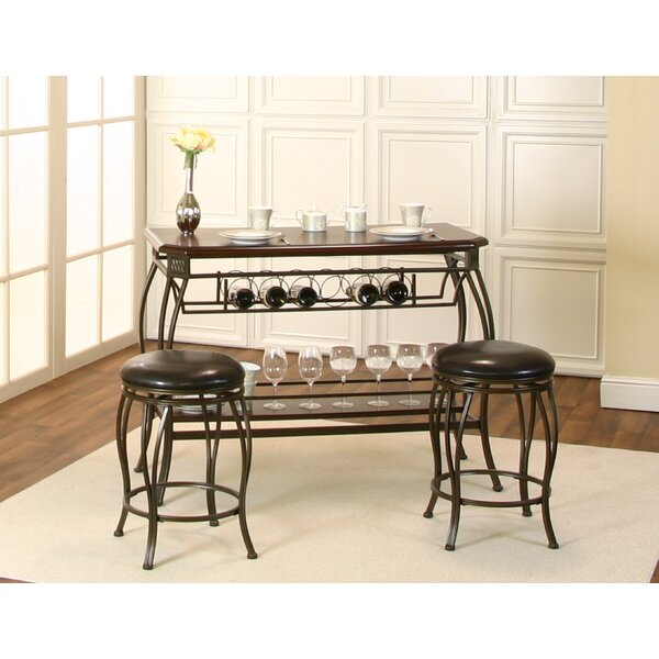 Stromsburg 3 Piece Pub Table Set by Fleur De Lis Living