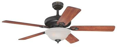 52 Fairview 5 Reversible Blade Ceiling Fan with Remote Control by Westinghouse Lighting