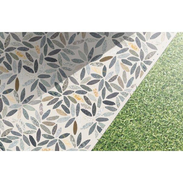 Random Sized Natural Stone Pebble Tile in Autumn