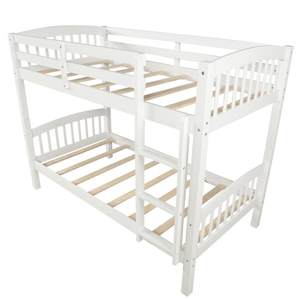 Dakoda Twin over Twin Bunk Bed (Set of 2) by Harriet Bee