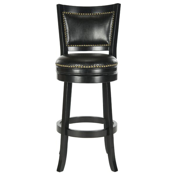 Lazzaro 29 Swivel Bar Stool by Safavieh
