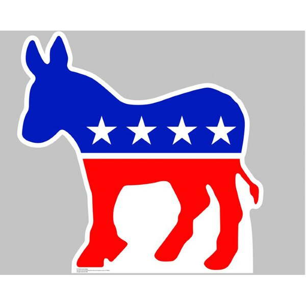 Patriotism and Politics Democratic Donkey Cardboard Stand-Up by Advanced Graphics
