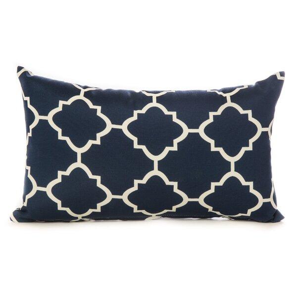 Cotton Lumbar Pillow by HRH Designs| @ $29.99
