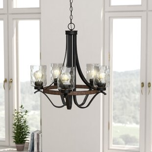 Shop For Sabo Indoor 5-Light Shaded Chandelier By Laurel Foundry Modern Farmhouse