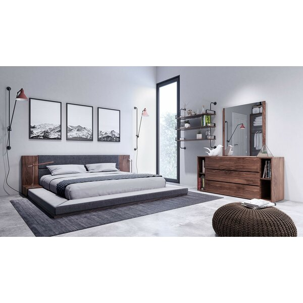 Defalco Platform 3 Piece Bedroom Set by Brayden Studio