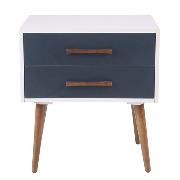 Burgos Storage 2 Drawer Nightstand By Trule Teen by Trule Teen Purchase
