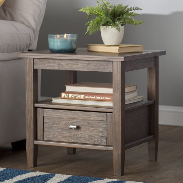 Alameda End Table With Storage By Alcott Hill