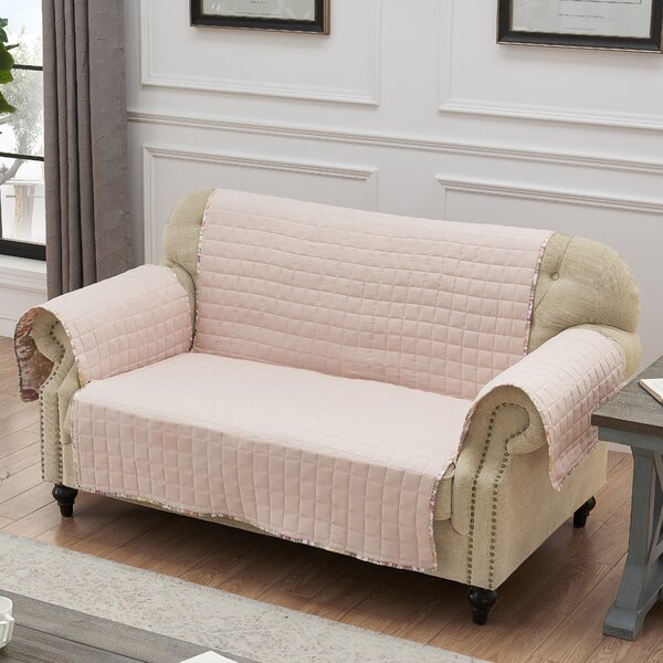Selig Loveseat Slipcover by Bungalow Rose