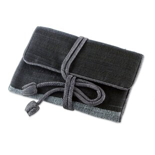 Purchase Happy Travels Silk Blend Roll Jewelry Pouch ByWinston Porter