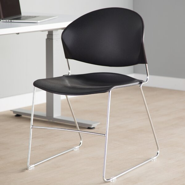 Jet Armless Multipurpose Stacking Chair (Set of 4) by Trendway