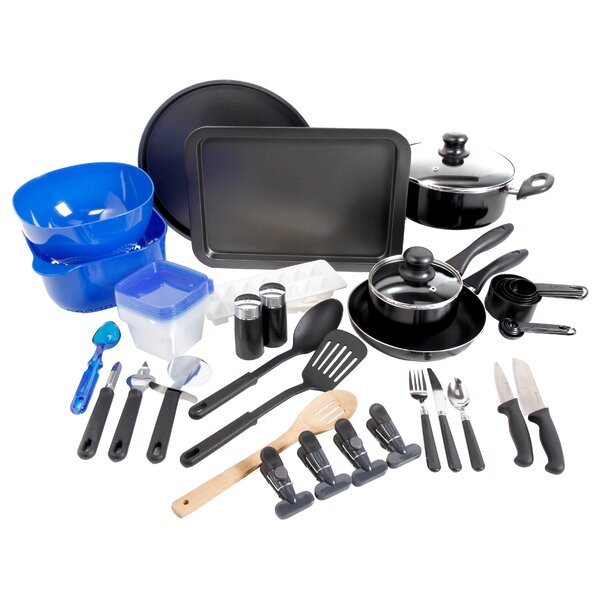 Home 59 Piece Cookware Combo Set by Gibson