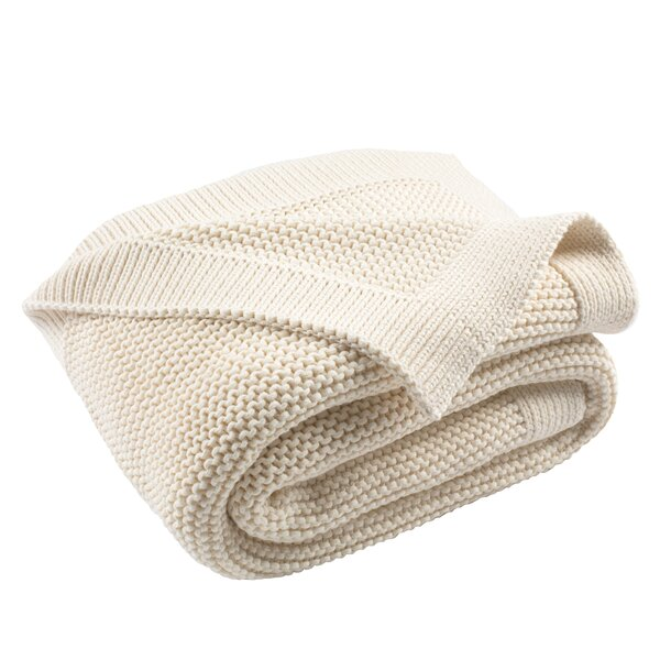 Vosburgh Knit Cotton Throw by Alcott Hill