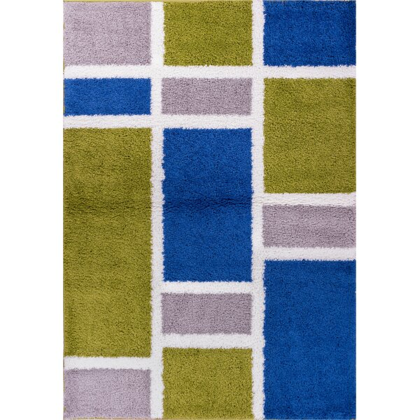 Reynolds Geo Concept Area Rug by Ebern Designs