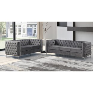 Odum 2 Piece Standard Living Room Set by Mercer41