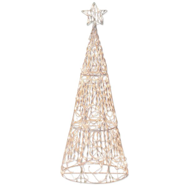 175 Light 3D Cone Tree Sculpture Christmas Decoration by Brite Star