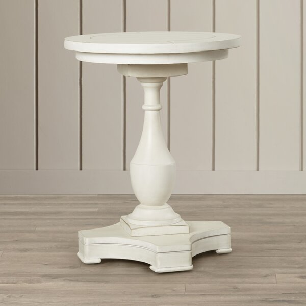 Warwick End Table by Rosecliff Heights