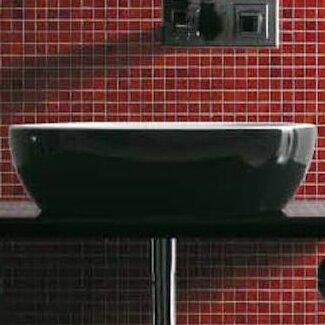 Musa Ceramic 47 Console Bathroom Sink by Maestro Bath