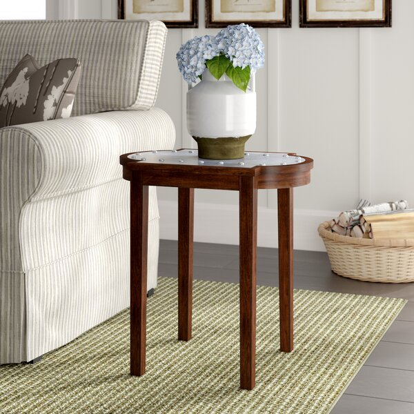 Ouareau Chairside Table by Laurel Foundry Modern Farmhouse