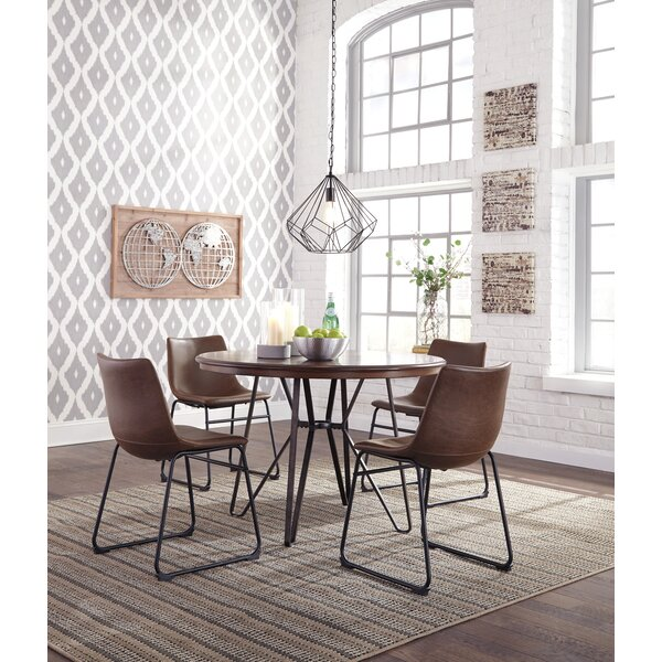 Lanford 5 Piece Dining Set by Williston Forge