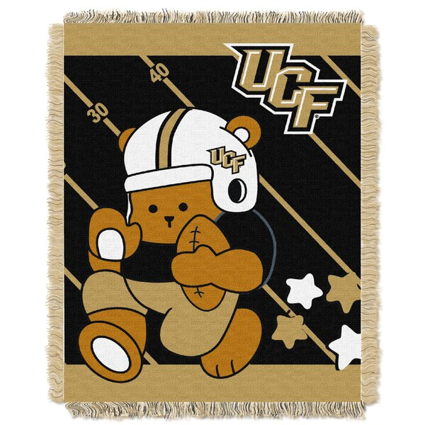 Collegiate Central Florida Baby Blanket by Northwest Co.