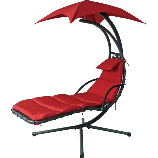 Talat Dream Hanging Chaise Lounger with Stand by Latitude Run