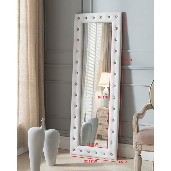 Tufted Full Length Mirror by InRoom Designs
