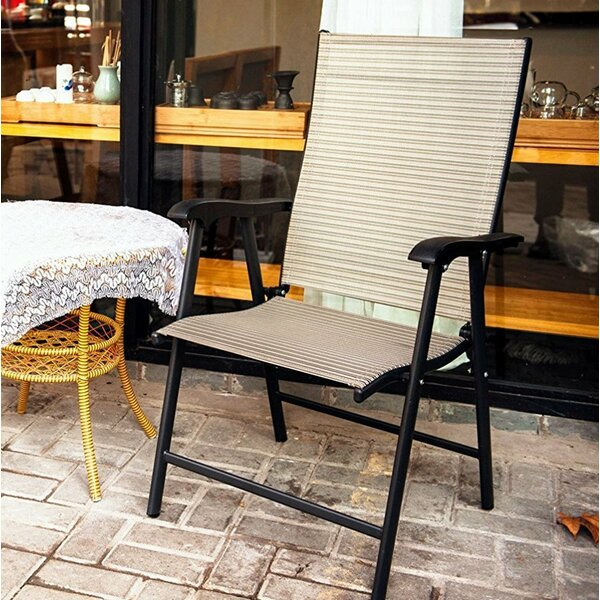 Scavotto Folding Patio Dining Chair by Red Barrel Studio