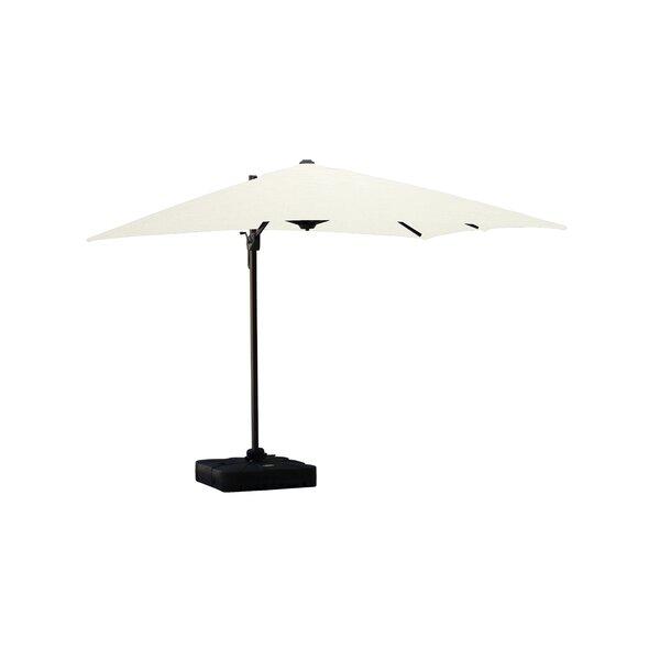 Jarod Lava 10' Square Cantilever Sunbrella Umbrella by Longshore Tides