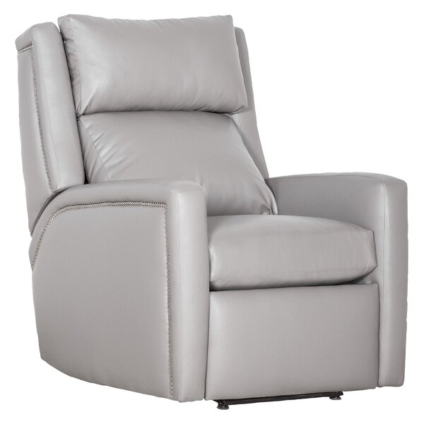 Best Price Drake Leather Manual Recliner