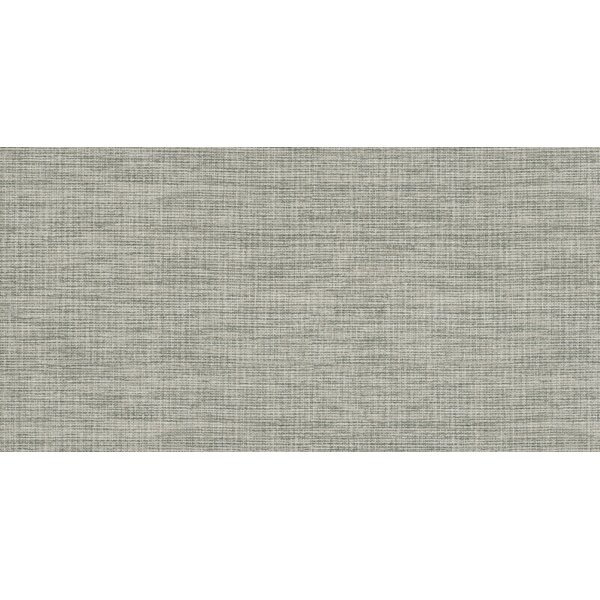 Tektile 12 x 24 Porcelain Fabric look Tile in Matte glaze Gray by MSI