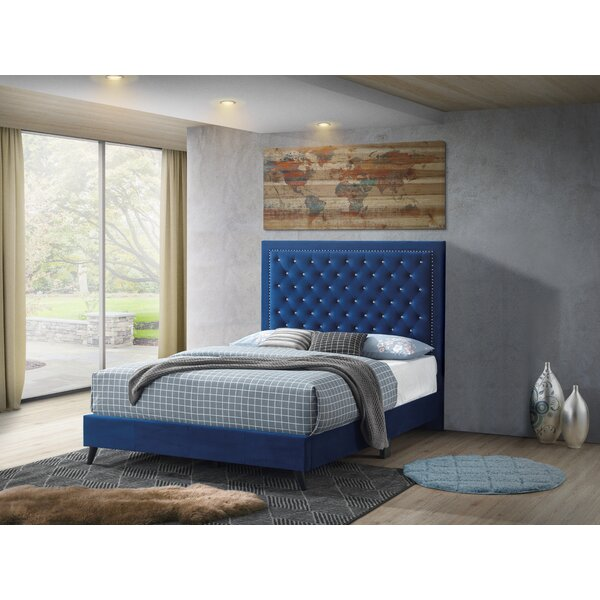 Leanne Tufted Upholstered Low Profile Platform Bed By Willa Arlo Interiors