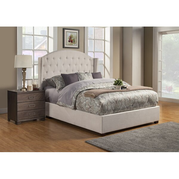 Bearse Upholstered Platform Bed by Alcott Hill