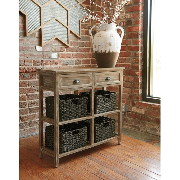 August Grove Brown Console Tables