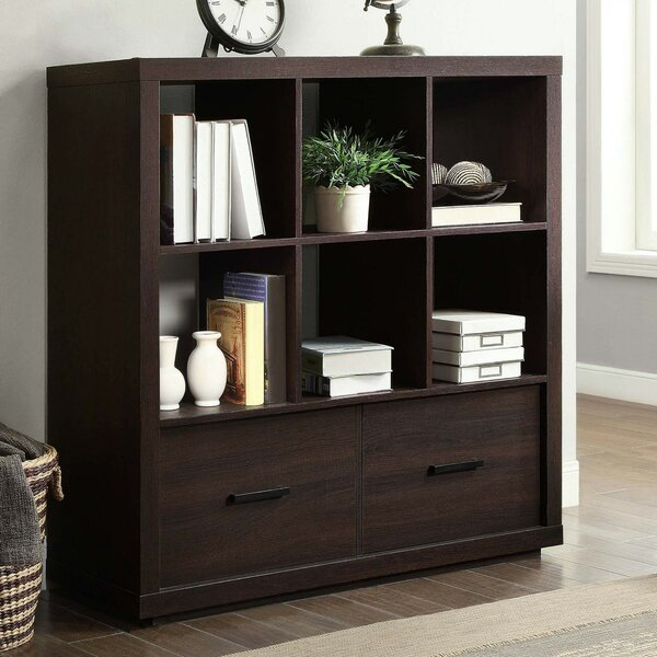 Alexzandria Storage Cube Bookcase By Latitude Run