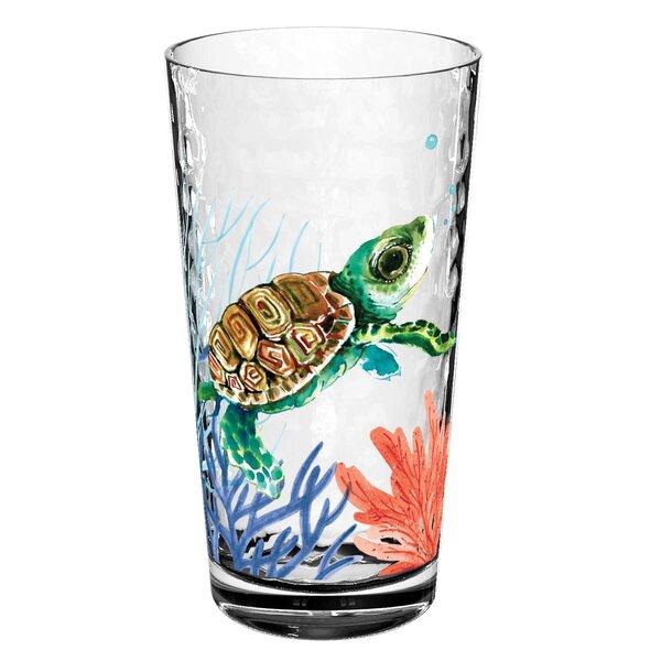 Bolinger 22.2 oz. Plastic Pint Glasses (Set of 6) by Beachcrest Home