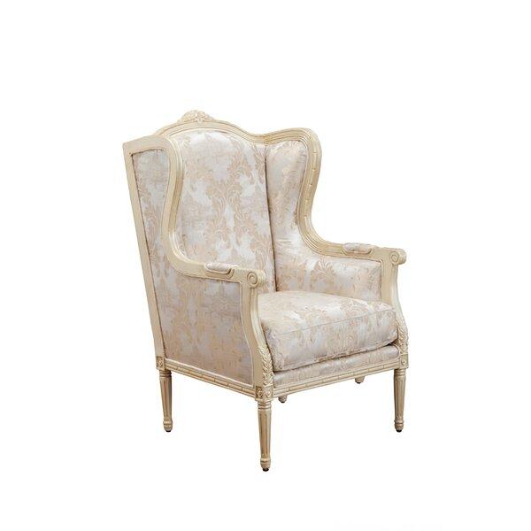 Bella Wingback Chair by Benetti's Italia