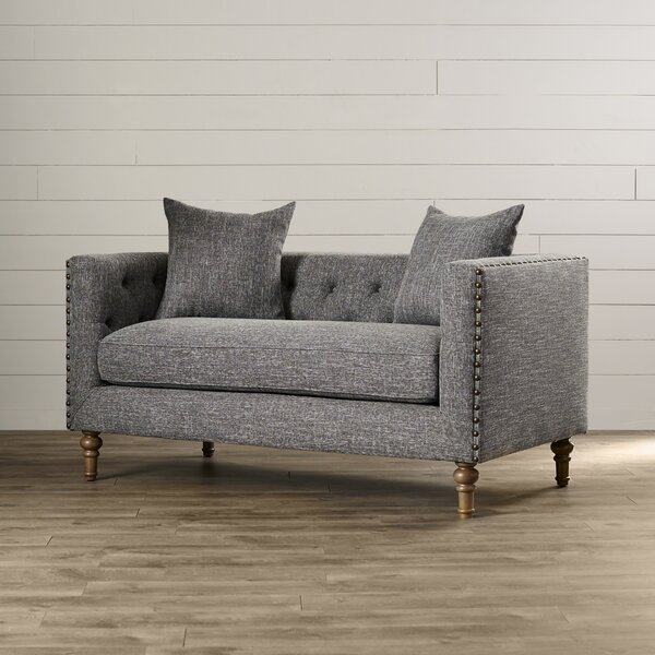 Dietame Chesterfield Loveseat by Lark Manor