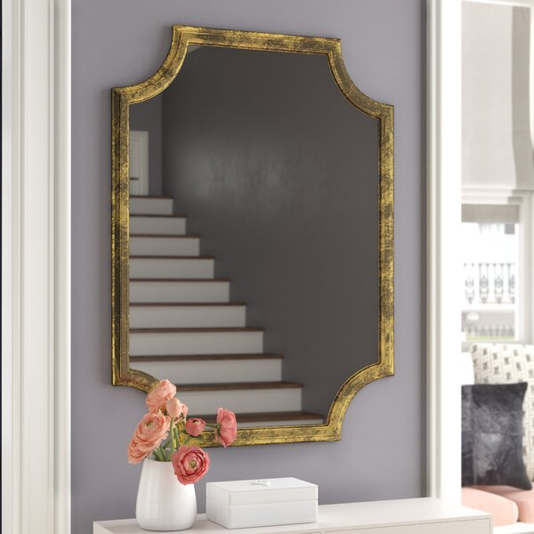 Danica Metallic Accent Wall Mirror by Willa Arlo Interiors