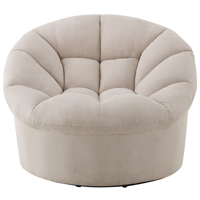 Magnificent Veroniza Upholstered Swivel Barrel Chair Beatyapartments Chair Design Images Beatyapartmentscom