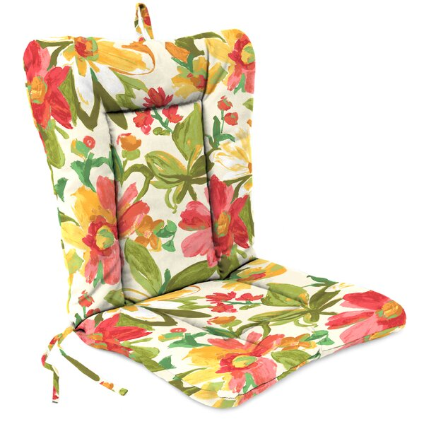 Indoor/Outdoor Adirondack Chair Cushion by Jordan Manufacturing