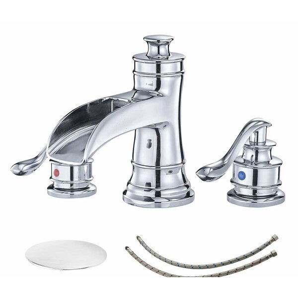 Widespread Bathroom Faucet with Drain Assembly by VIBRANTBATH VIBRANTBATH