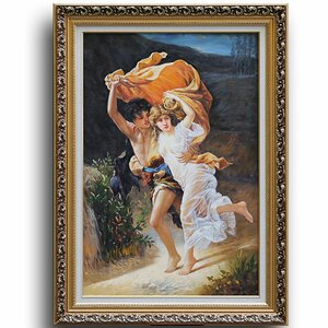 The Storm' by Pierre-Auguste Cot Framed Painting by Greenville Signature
