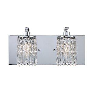 Price comparison Descoteaux 2-Light Vanity Light By Lark Manor