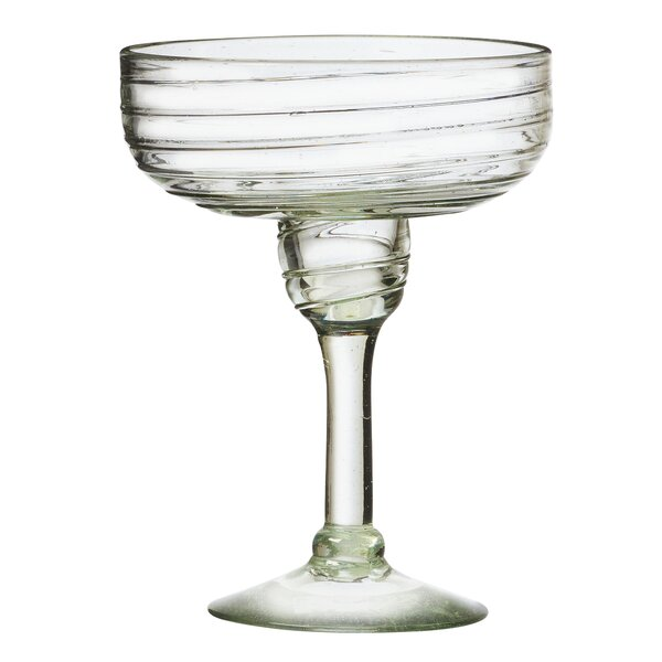 Clara 15 oz Margarita Glass Set (Set of 4) by Global Amici