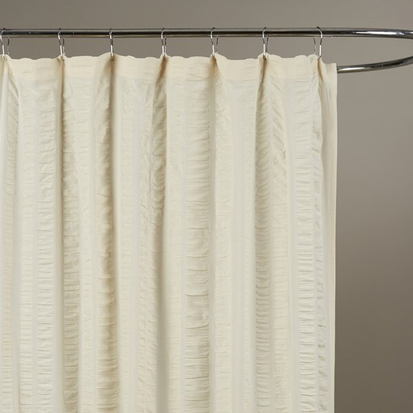 Ewen Cotton Shower Curtain by Birch Lane™